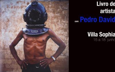 Workshop, Livro de artista com Pedro David na Villa Sophia – RJ