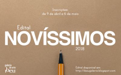 EDITAL NOVÍSSIMOS 2018